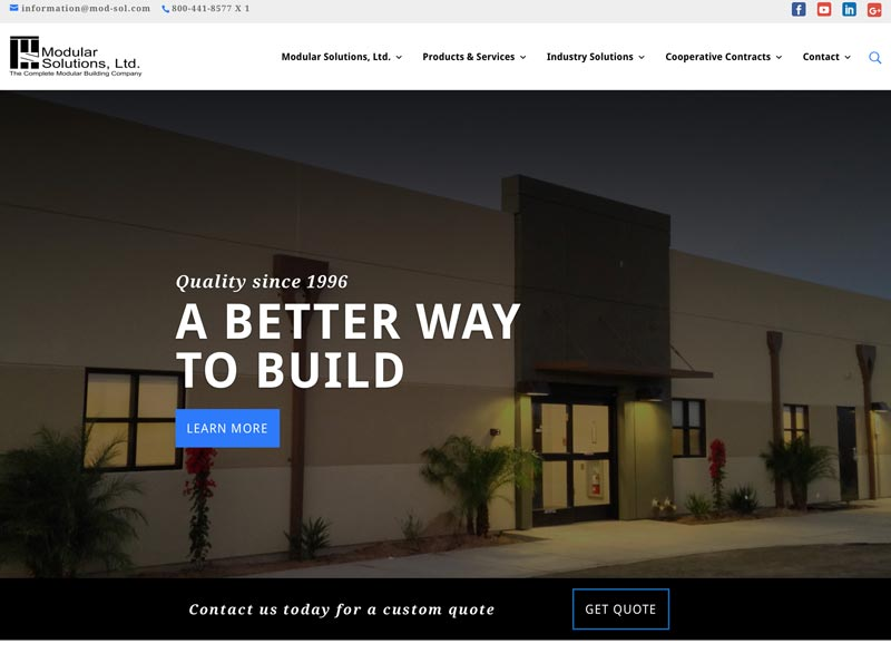 Made In The USA, Buy American, Complaint Modular Building