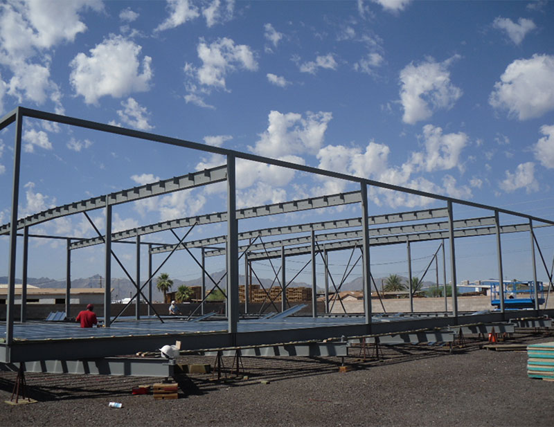 What? – An All Steel Modular Building?