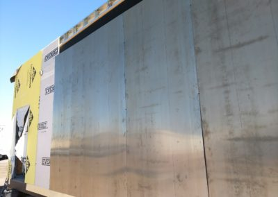 10. Stainless Steel Exterior Wall Panels