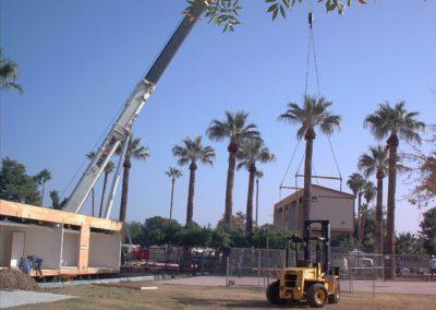 crane set up install