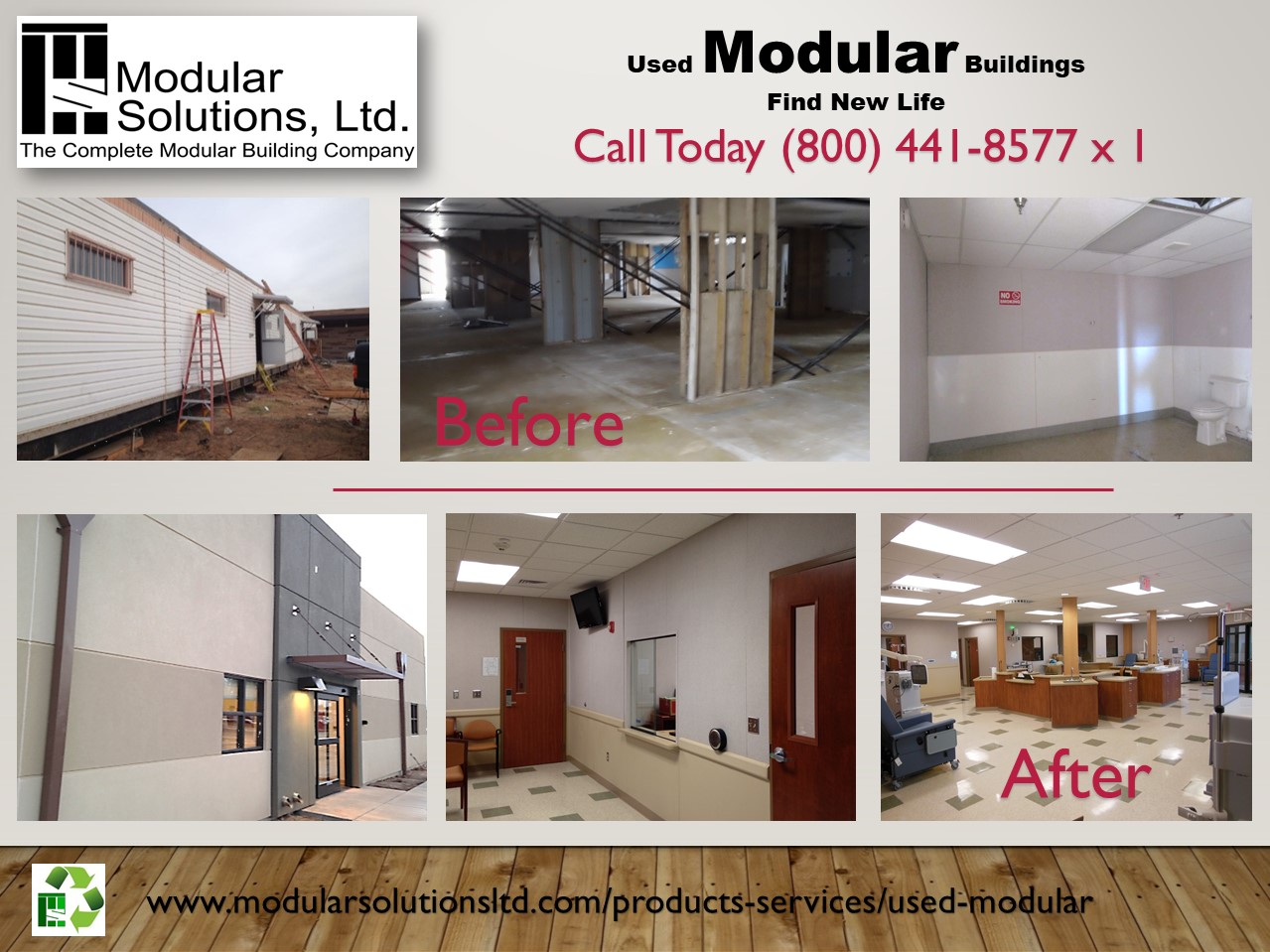 Modular Solutions used buildings