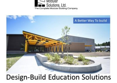 design-build solutions cover page